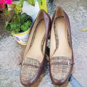 Naturalizer Scarlet Brown Heels